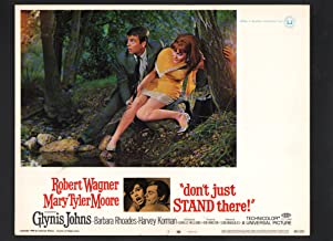 MOVIE POSTER: Don't Just Stand There Lobby Card #7-1968-Robert Wagner and Mary Tyler Moore