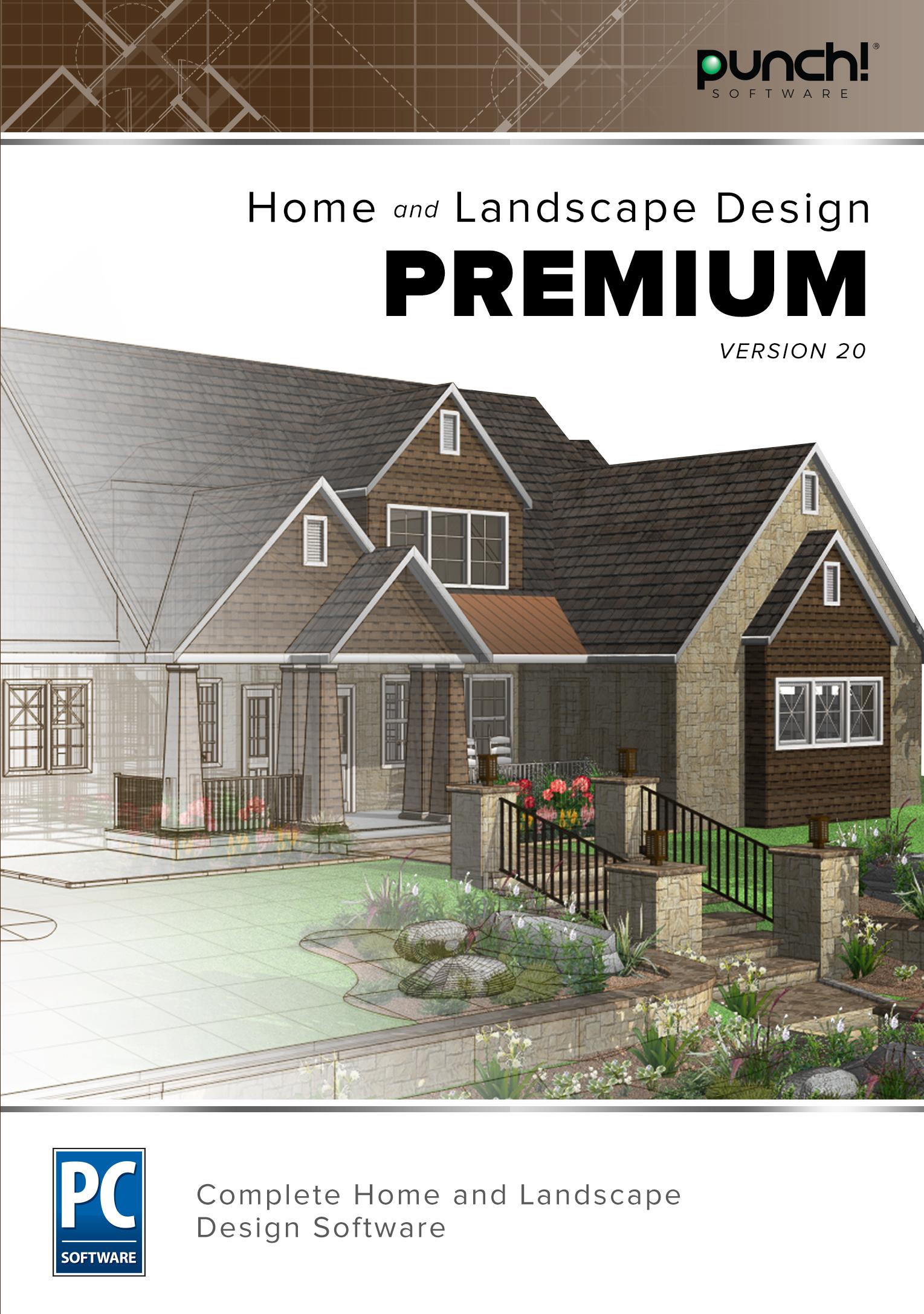 Punch! Home & Landscape Design Premium v20 [Download]