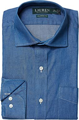 Classic Fit No Iron Cotton Dress Shirt