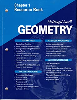 geometry chapter 1 resource book