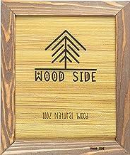 Molduras rústicas para fotos de madeira ORBIS LADO, Natural, 16x20