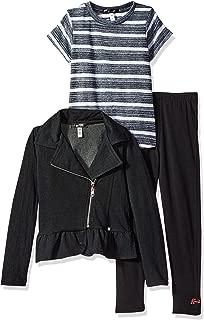 Kensie 女童外套、针织上衣和打底裤套装(更多款式可选)