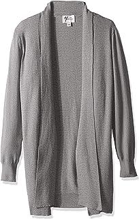 Andrea Jovine Women's Whisper Knit Tie Front Cardigan Sweater