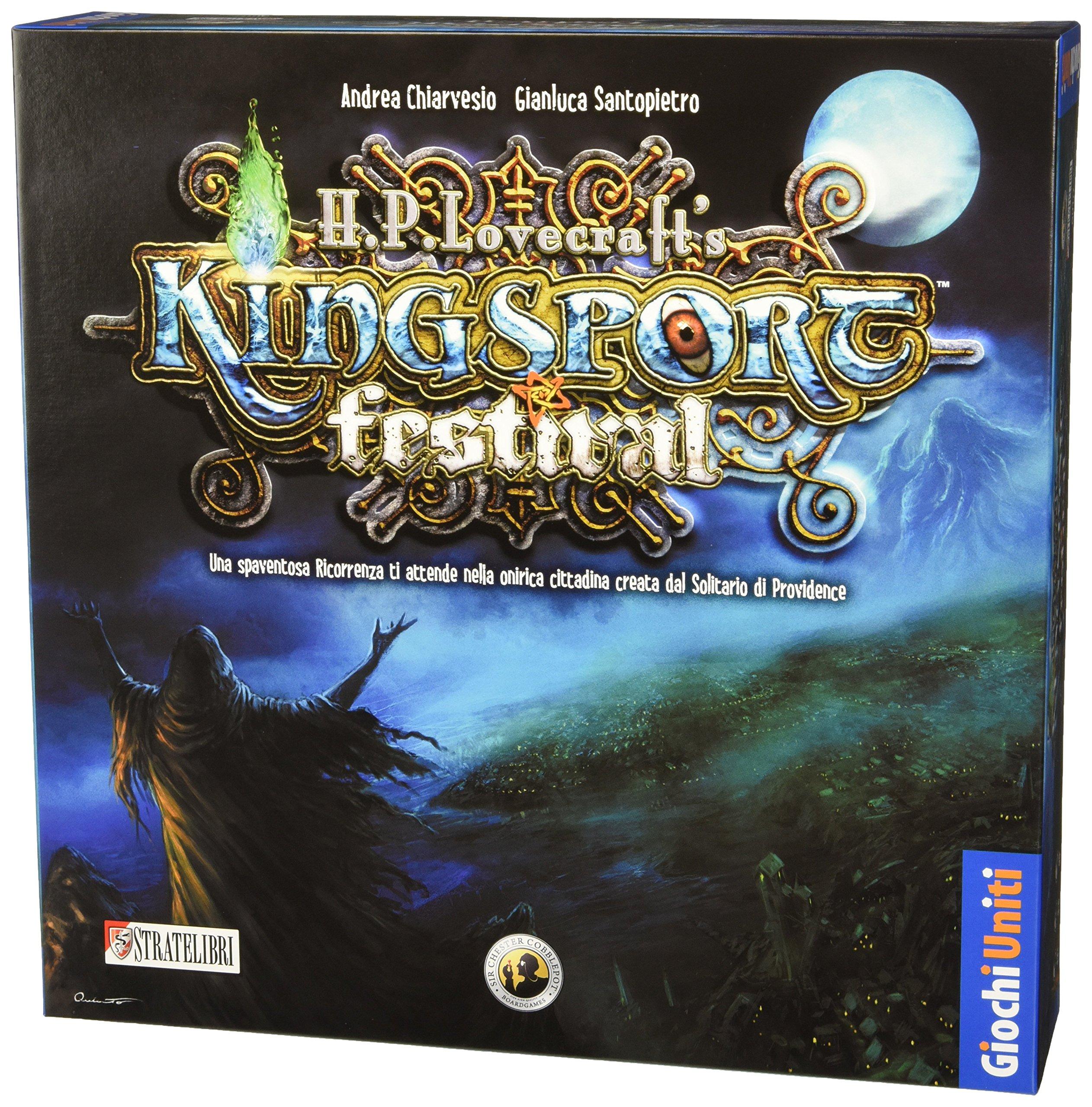 Giochi Uniti Juegos Unidos - Kingsport Festival Junta Juego: No Name: Amazon.es: Juguetes y juegos