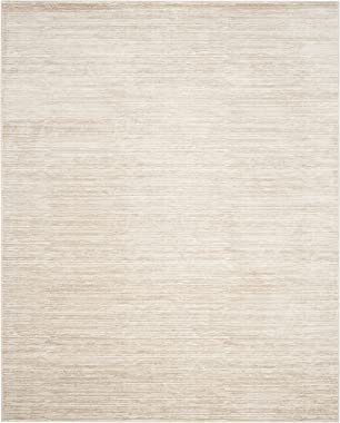 Safavieh Vision Collection VSN606F Modern Contemporary Ombre Tonal Chic Area Rug, 8' x 10', Cream