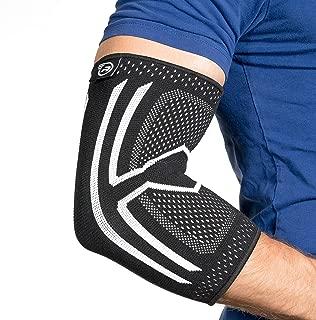 Elbow Compression Sleeve - Support Brace for Tendonitis, Arthritis, Bursitis