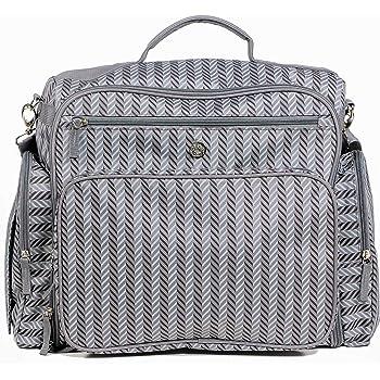 Zohzo Aldridge Diaper Backpack - Diaper Bag with Changing Pad