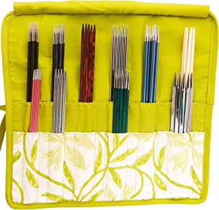 Knitter's Pride KP810083 Greenery Double Pointed Needle Case 6-8