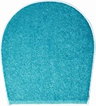 Grund Bath Rug, Ultra Soft and Absorbent, Anti Slip, Wings, Toilet seat Cover 47x50 cm, Turquoise