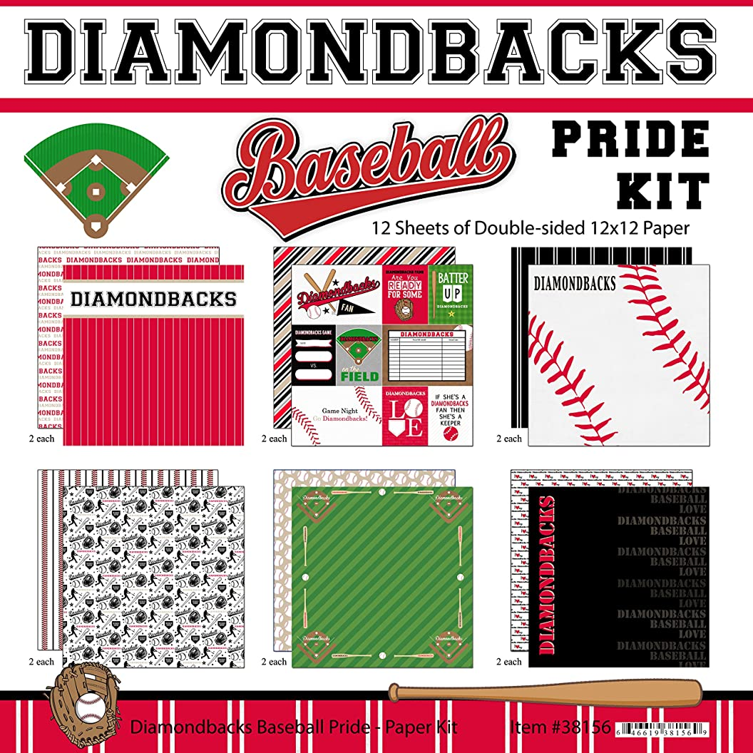 Scrapbook Customs Diamondbacks Pride Baseball Scrapbook Kit btnggpkckoy22