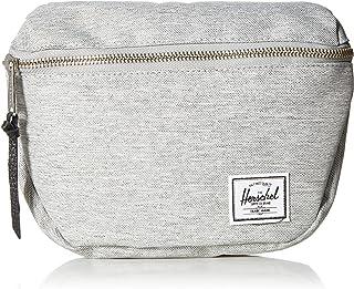 Herschel Fifteen Waist Pack, Light Grey Crosshatch/Black, One Size