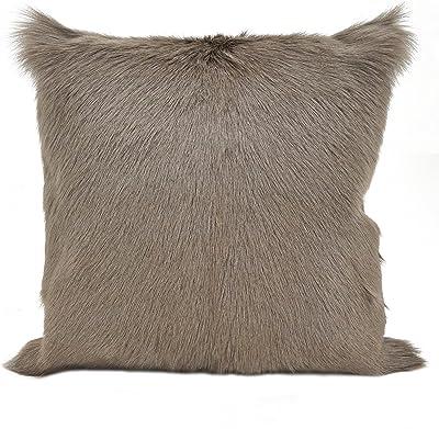 Goat Lamb Fur Pillow Case  Cushion Cover Real Fur Pillow Case