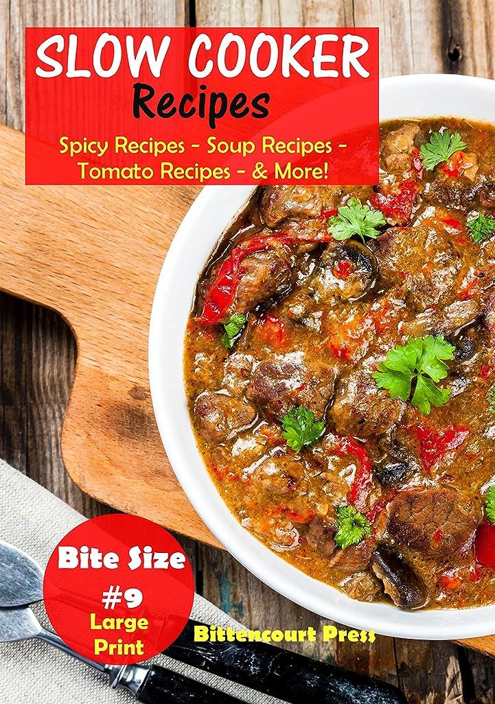ライセンス方向注意Slow Cooker Recipes - Bite Size #9: Spicy Recipes – Soup Recipes – Tomato Recipes - & More!  (Slow Cooker Bite Size) (English Edition)