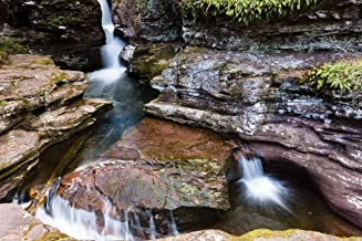Three Slow Waterfalls 5x7