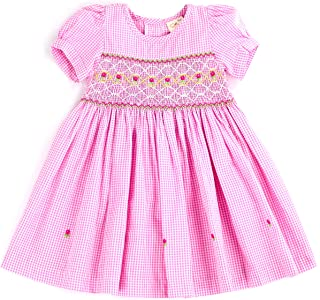 sissymini - Infant and Toddlers (9-12M - 4T) Hand Smocked Dress | Remy Redmond's Plaid