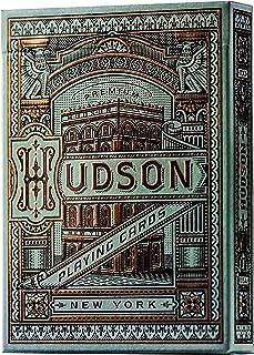 theory11 Hudson Playing Cards, Light Green, Model:CARDSHUDSON