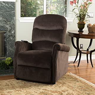 """Christopher Knight Home Alan Lift Up Recliner Chair, 33.08""""D x 36.23""""W x 40.95""""H, Chocolate"""