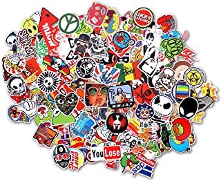 StillCool Stickers Pack of 100 Skateboard Snowboard Vintage Vinyl Sticker Graffiti Laptop Luggage Car Bike Bicycle Decals Mix Lot Fashion Cool