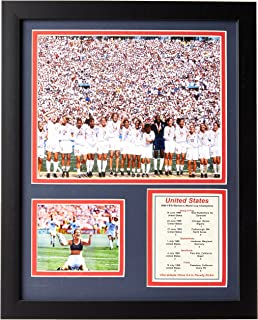 World Cup Soccer unisex World Cup Soccer Legends Never Die Framed Photo Collage, Team Usa Women's, 11-inch By 14-inch