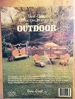 Best dura craft dollhouse furniture kits Reviews