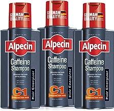 Alpecin Caffeine Shampoo C1 - against hair loss in men, bundle set of 3 x 250ml