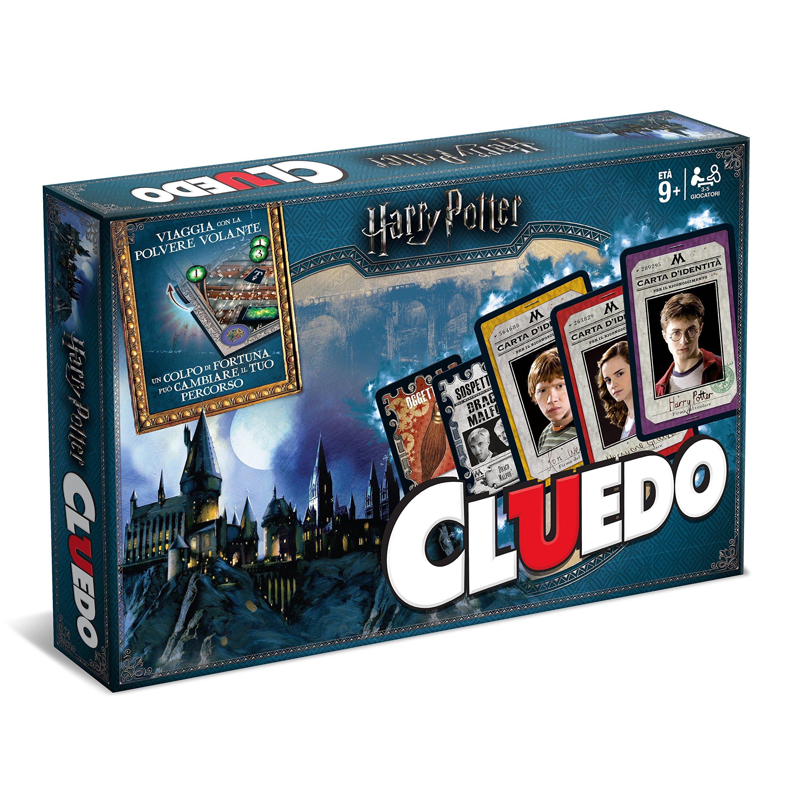 Winning Moves 02400 Juegos de mesa – Cluedo Harry Potter Edición de Colección, italian version: Amazon.es: Juguetes y juegos