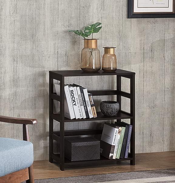 2L Lifestyle G11600002 E Hyder Wood Shelf Espresso