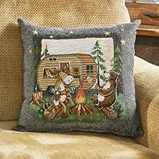 Camping Decor Throw Pillows Decorative Pillows Inserts Covers Home Kitchen