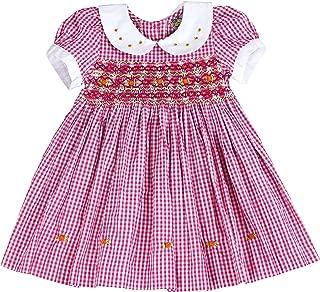 sissymini - Infants and Toddlers (12M-4T) Soft Cotton Plaid Hand Smocked Dress   Helene Picket's Posh Plaid