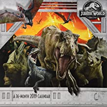 2019 Jurassic World: Fallen Kingdom Wall Calendar