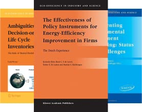 Eco-Efficiency in Industry and Science (24 Book Series)
