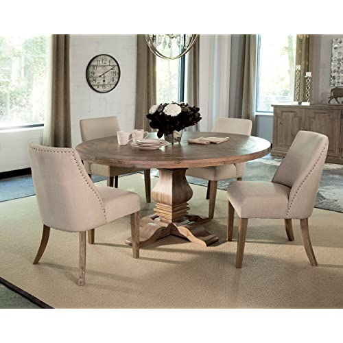 Round Pedestal Dining Tables: Amazon.com