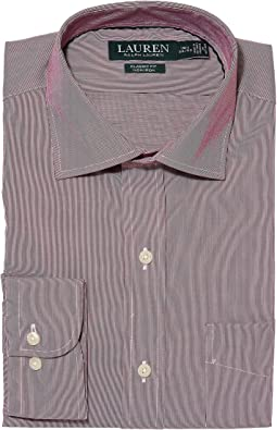 LAUREN Ralph Lauren - Non-Iron Poplin Classic Fit Dress Shirt