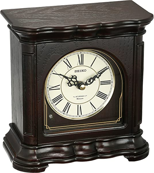 SEIKO Traditional Musical Desk Table Clock 7 55 In Wide