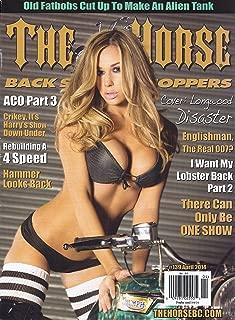 The Horse Backstreet Choppers (April 2014 - #139 - Model Virginia Hughes Cover)