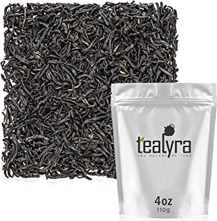 Tealyra - Keemun Mao Feng - Premium Chinese Black Loose Leaf Tea - Perfect English Breakfast Tea - Energy Boost - Caffeine...