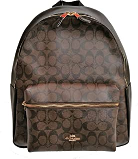 Charlie Pebble Leather Backpack