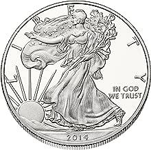 2014 Silver Eagle .999 Fine 1 Troy Ounce Silver Eagle $1 Brilliant Uncirculated