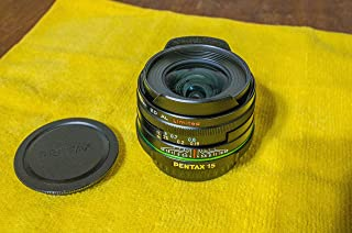 Pentax SMC 15mm f/4.0 DA ED AL Limited Wide Angle Lens for Pentax Digital SLR Cameras