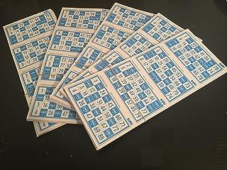 1600 cartones de Bingo BINVI