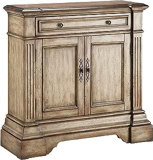 Stein World Furniture Gentry Accent Cabinet, Antique Dusty Linen