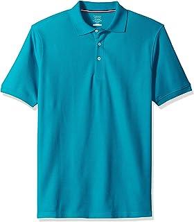 9ce08802d French Toast Boys  Husky Short Sleeve Pique Polo Shirt (Standard   Husky)