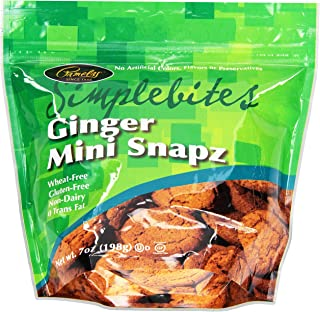 Pamela's Products Simplebites, Ginger Mini Snapz, 7 oz