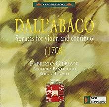 Dall'Abaco: Violin Sonatas in D Major / D Minor / A Minor / G Minor / B-Flat Major / B Minor