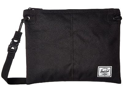Herschel Supply Co. Alder (Black) Cross Body Handbags