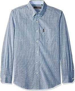 Ben Sherman Men's Ls Slub Chambray Shirt