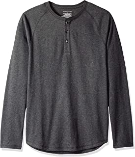 Men's Slim-Fit Long-Sleeve Henley Shirt