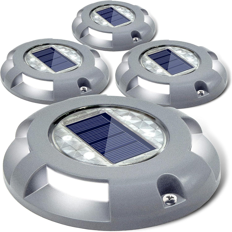 Dedication Siedinlar Solar Deck Lights Driveway Powere shopping Dock Light LED
