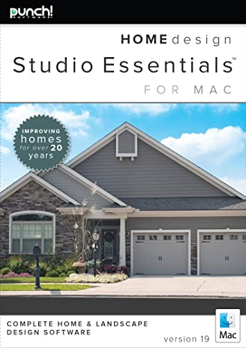 Punch! Home Design Essentials for Mac v19 [Download]