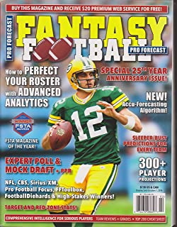 Pro Forecast Fantasy Football Magazine 2014